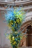 Glasbeeldhouwwerk door Dale Chihuly, Victoria en Albert Museum, Londen Stock Foto