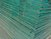 Glasblätter Stockbild