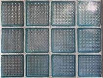 Glasblöcke der blauen Farbe Lizenzfreie Stockfotografie