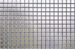 Glasblock-Wandhintergrund Lizenzfreie Stockfotografie