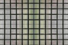 Glasblockwände für den Designhintergrund Stockfoto