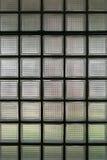 Glasblockwände für den Designhintergrund Lizenzfreie Stockfotografie