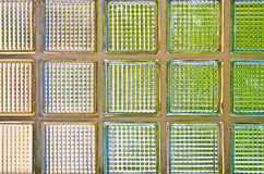 Glasblockwand Lizenzfreies Stockbild
