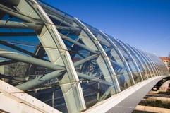 Glasbrücke Stockfoto
