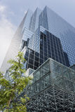 Glasbürokontrollturm Stockbild