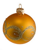 Glasc$weihnachten-baum Kugel Stockbild