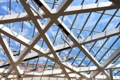 Glasdach in einem Berlin& x27; s-Museum Lizenzfreie Stockfotos