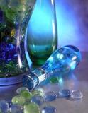 Glasdekorationen Stockfoto