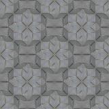Glasdekorfliese mit gerillter Oberfläche Nahtloser geometrischer Rüttler Lizenzfreie Stockfotos