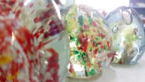 Glasdocument gewicht stock afbeelding