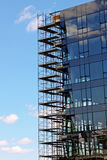Glasecke Lizenzfreies Stockfoto