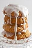 glasera vanilj för kakor fyra Arkivbild