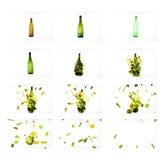Glasexplosie Royalty-vrije Stock Fotografie
