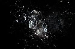 Glasexplosie Stock Foto