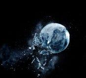 Glasexplosion stockbilder