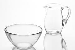 glasföremål Arkivbilder