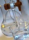 glasföremållaboratorium Arkivfoto