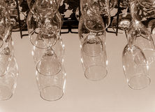 Glasföremålsamling Fotografering för Bildbyråer
