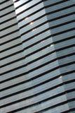 Glasfassade, Barcelona, Spanien Stockbilder