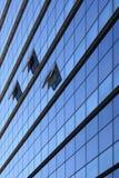 Glasfassade, Barcelona, Spanien Stockfotografie
