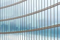 Glasfassade des Bürohauses Lizenzfreie Stockfotografie