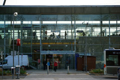 Glasfassadenhauptanschluss Baden Lizenzfreies Stockbild