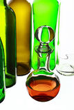 Glasflasche Stockbild