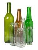 Glasflaschen Lizenzfreie Stockfotografie