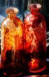 Glasflaschen Lizenzfreies Stockfoto