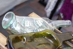 geschmolzene flaschen stockbild bild von knoten angebracht 7246389. Black Bedroom Furniture Sets. Home Design Ideas