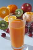 glasfruktsaft Royaltyfri Bild