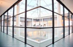 Glasfußboden Stockfoto