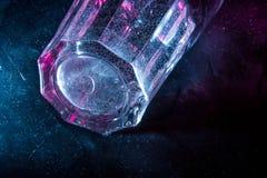 Glasgalaxie lizenzfreies stockbild