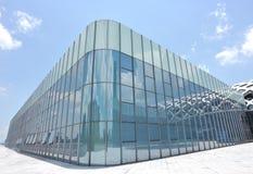 Glasgebäude Stockbilder