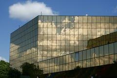 Glasgebäude 3 stockfotografie