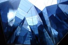 Glasgebäude Stockfoto