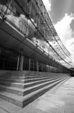 Glasgebäude der modernen Architektur - Brüssel Stockfotos
