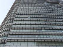 Glasgebäude Higrise Stockbild