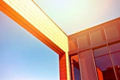Glasgebäude in Madrid Stockbilder