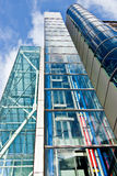 Glasgebouwen Royalty-vrije Stock Afbeelding