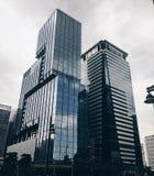 Glasgebouwen Stock Foto