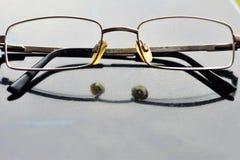 Glasgeschäftsperson stockfotos