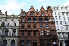 Glasgow Architecture. Exterior of Glasgow building, Scotland Royalty Free Stock Photography