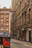 Glasgow Backstreet Royalty Free Stock Image