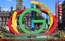 Glasgow bogactwa Pospolite gry 2014 Obraz Royalty Free