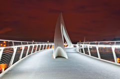 Glasgow Bridge. Modern bridge in Glasgow at Royalty Free Stock Photo