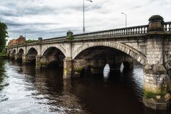 Glasgow Bridge Royalty Free Stock Images