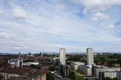 Glasgow budynki Zdjęcia Royalty Free