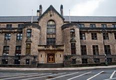 Glasgow building. Building facade in Glasgow Scotland Stock Photography