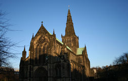 Glasgow cathedral Stock Photography